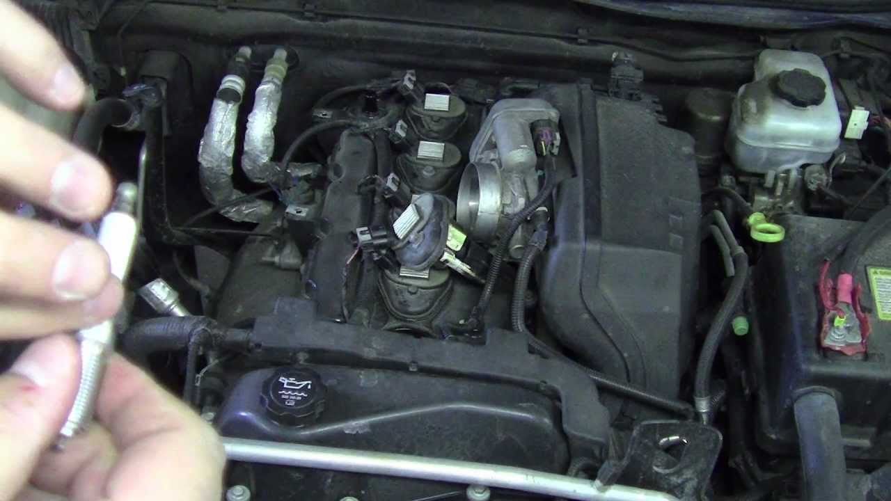 hight resolution of how to change spark plugs on a 2006 h3 hummer colorado detailed youtube