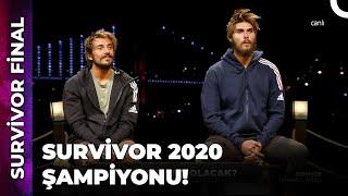 İŞTE SURVİVOR 2020 ŞAMPİYONU