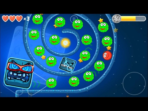 Red ball 4 Volume 4: GREEN Bilberry Complete game walkthrough with BOSSES killed
