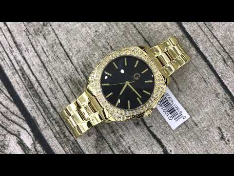 G By Guess Men's Oversized Gold Watch G10914G1