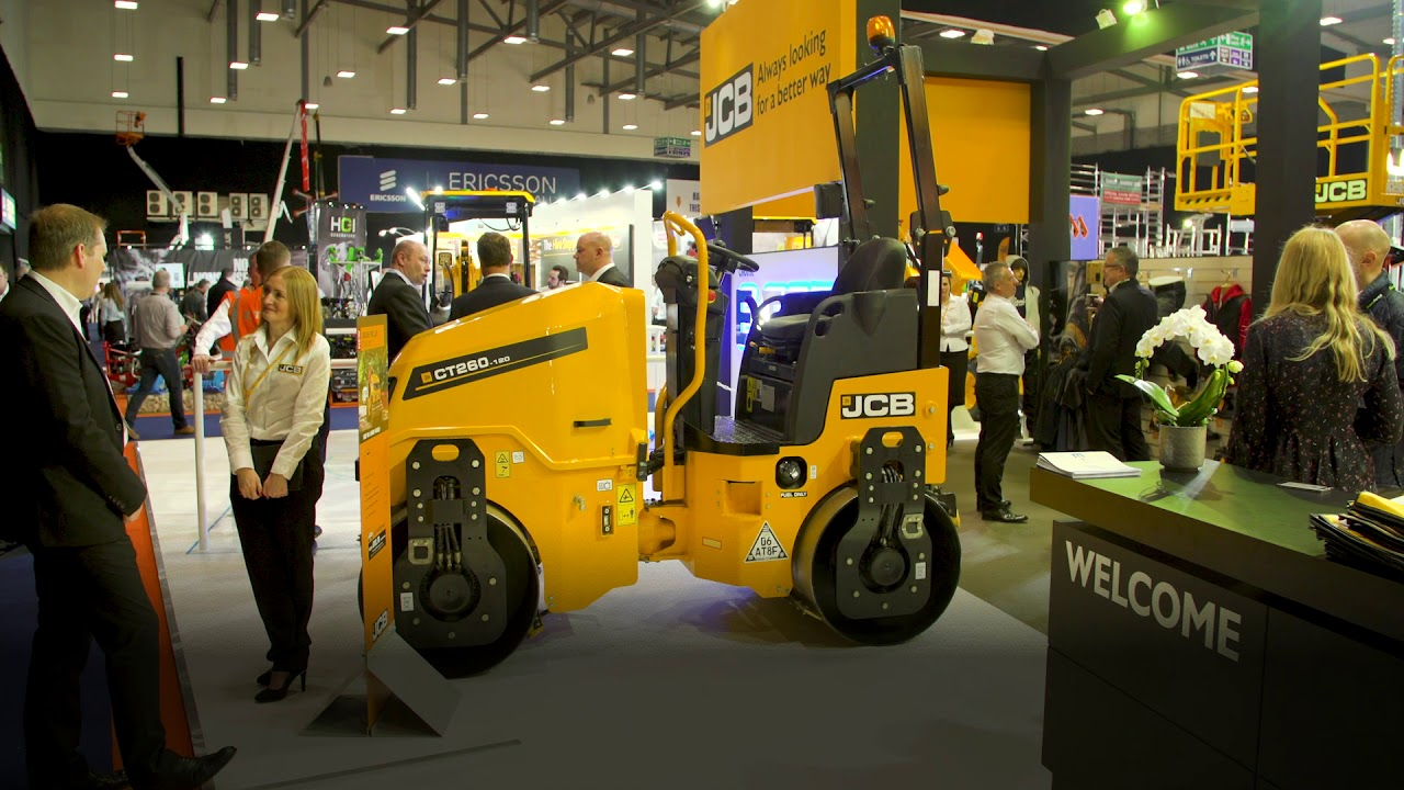 JCB at Executive Hire Show 2019