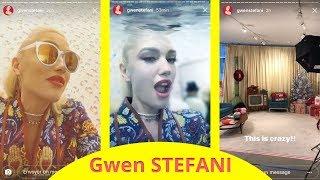 Gwen Stefani preparing for Ellen Degeneres - december 7 2017