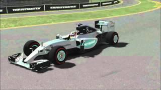 rFactor 2 - IndyCar v.  Formula 1
