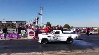Richard Jordaan at Tarlton 25 September 2016 8 second run South African Drag racing
