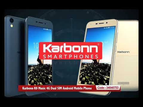 Karbonn K9 Music 4G Dual SIM Android Mobile Phone