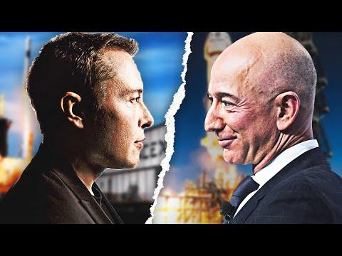 The Elon Musk vs. Jeff Bezos Rivalry