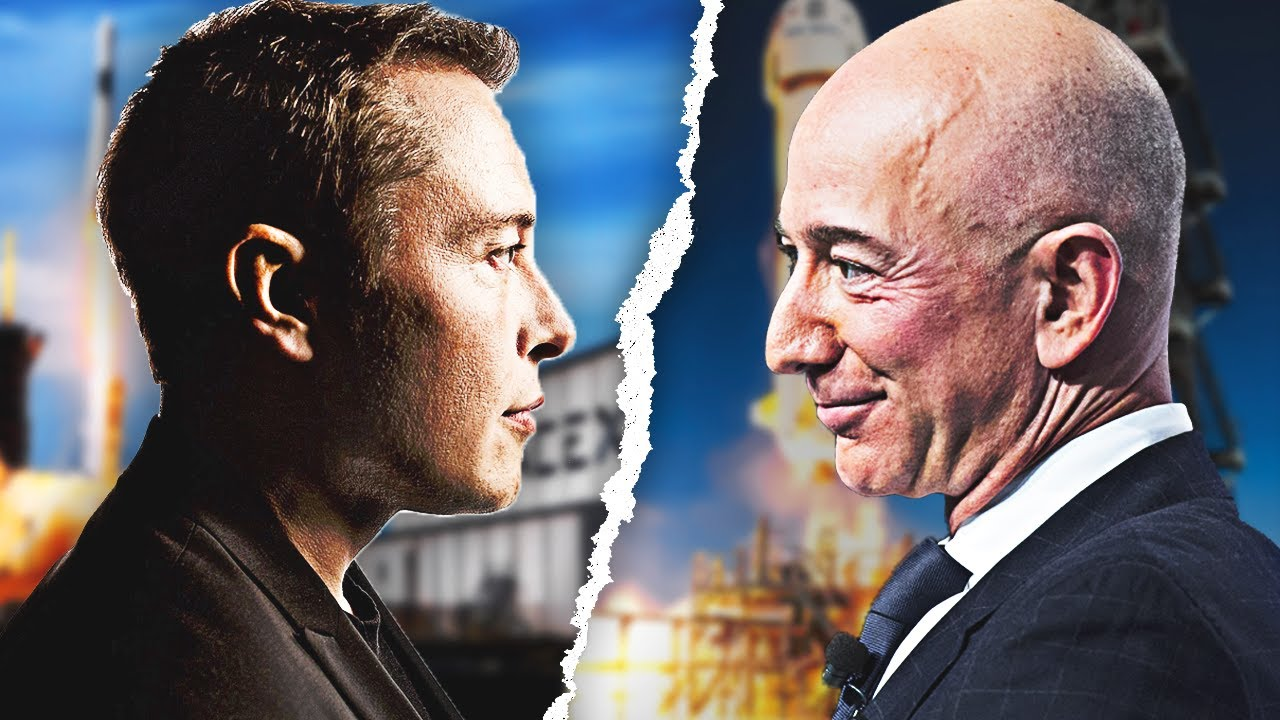 The Elon Musk vs. Jeff Bezos Rivalry - YouTube
