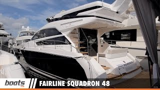 Fairline Squadron 48: First Look Video Sponsored by United Marine Underwriters