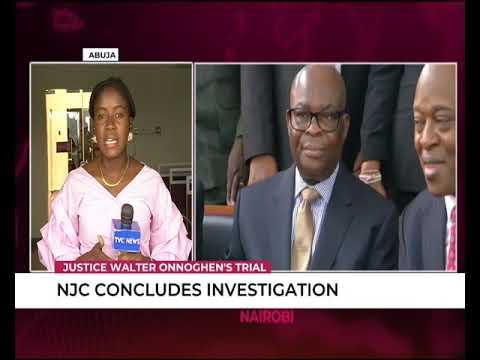 Celestina Iria speaks on NJC's report to EFCC