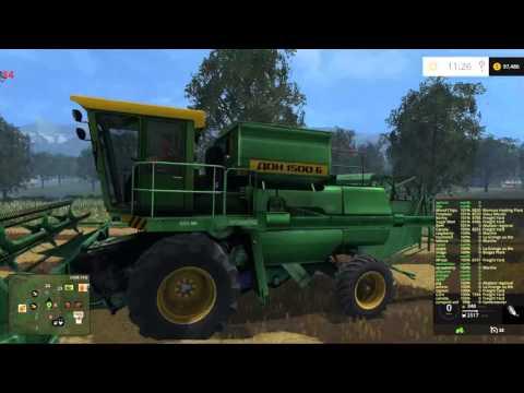 "Vieille  France map for Farming Simulator 15  part 1 ""the gear"""