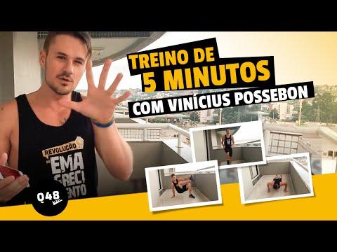 Treino de 5 Minutos Q48 com Vinícius Possebon | Queima de 48 Horas