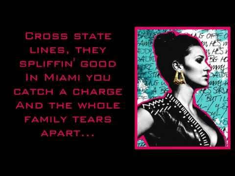 Kat Dahlia - Gangsta (Lyric Video)