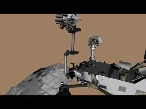 Drilling Into Mars