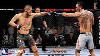 EA Sports UFC 3: Epic Gameplay ft. Khabib Nurmagomedov vs Tony Ferguson (Championship fight)