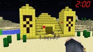 ÇÖLDE GİZEMLİ ALTIN PİRAMİTİ BUDLUM! 😱 - Minecraft
