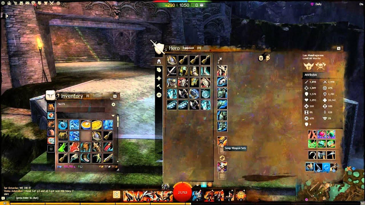 Warrior guide guild wars 2