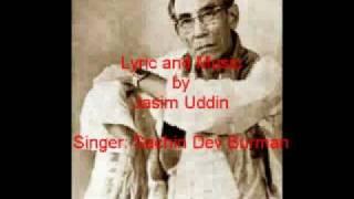 Download Nishithe Jaio Fulobone MUSIC & LYRIC JASIM UDDIN Singer Sachin Dev Burman, www.jasimuddin.org MP3 song and Music Video