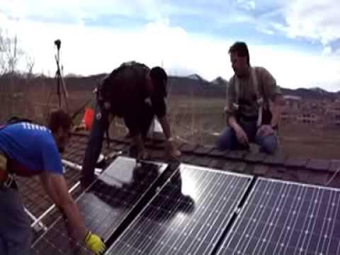 AweSun Renewable Energy - Solar PV Electric Install
