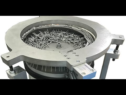 RNA Twister Bowl Feeder for screws, nails, rivets - RNA Automation Ltd
