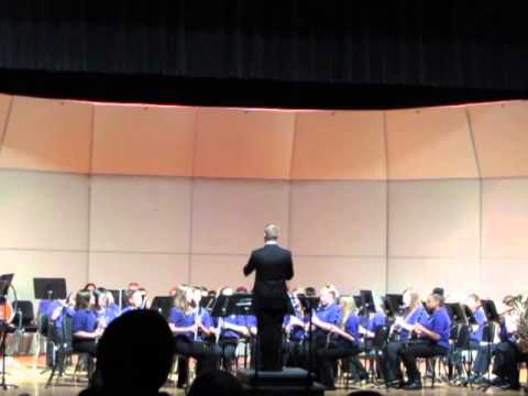 Three Rivers Middle School 8th Grade Band song Two