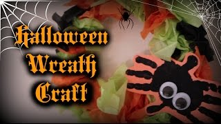 Halloween Wreath Children