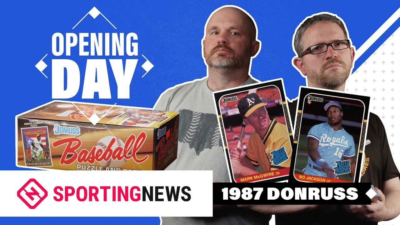 Opening Day 1987 Donruss Baseball Cards Box Break