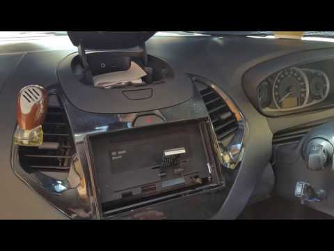 Removal of the New gen Ford Figo radio trim plate