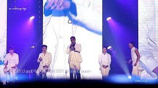 190113 god(지오디) GREATEST Encore Concert- 왜