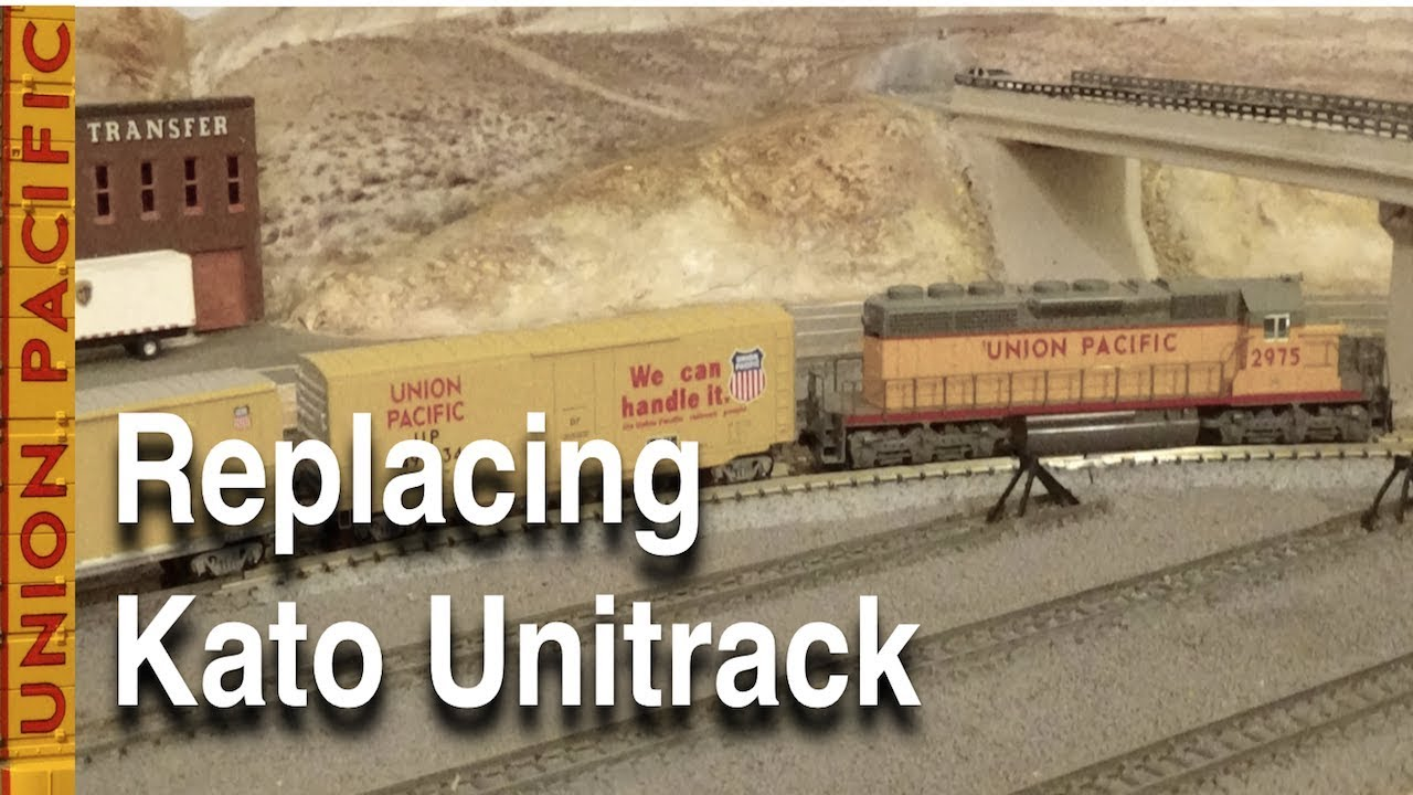 Replacing Kato Unitrack On My N Scale Model Railroad Youtube How To Wire A Switch