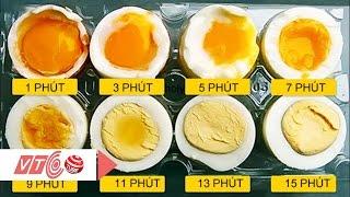 Bí quyết luộc trứng ngon | VTC