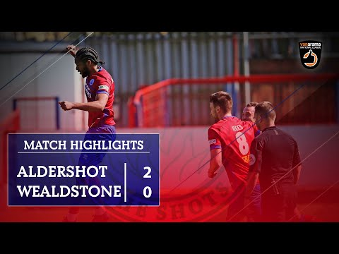 Aldershot Wealdstone Goals And Highlights