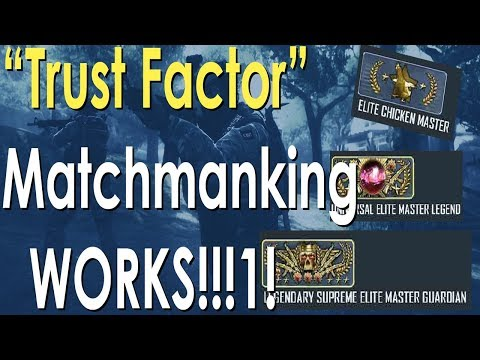 trust factor matchmaking when is it on