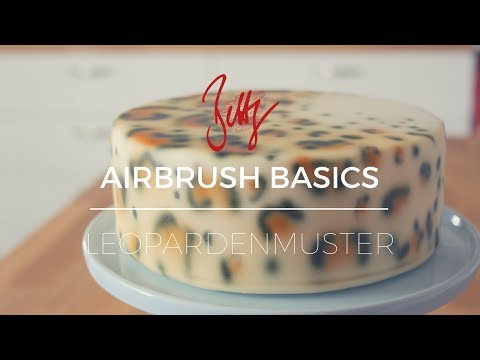 Airbrush Basics - Leopardenmuster | Betty´s Sugar Dreams