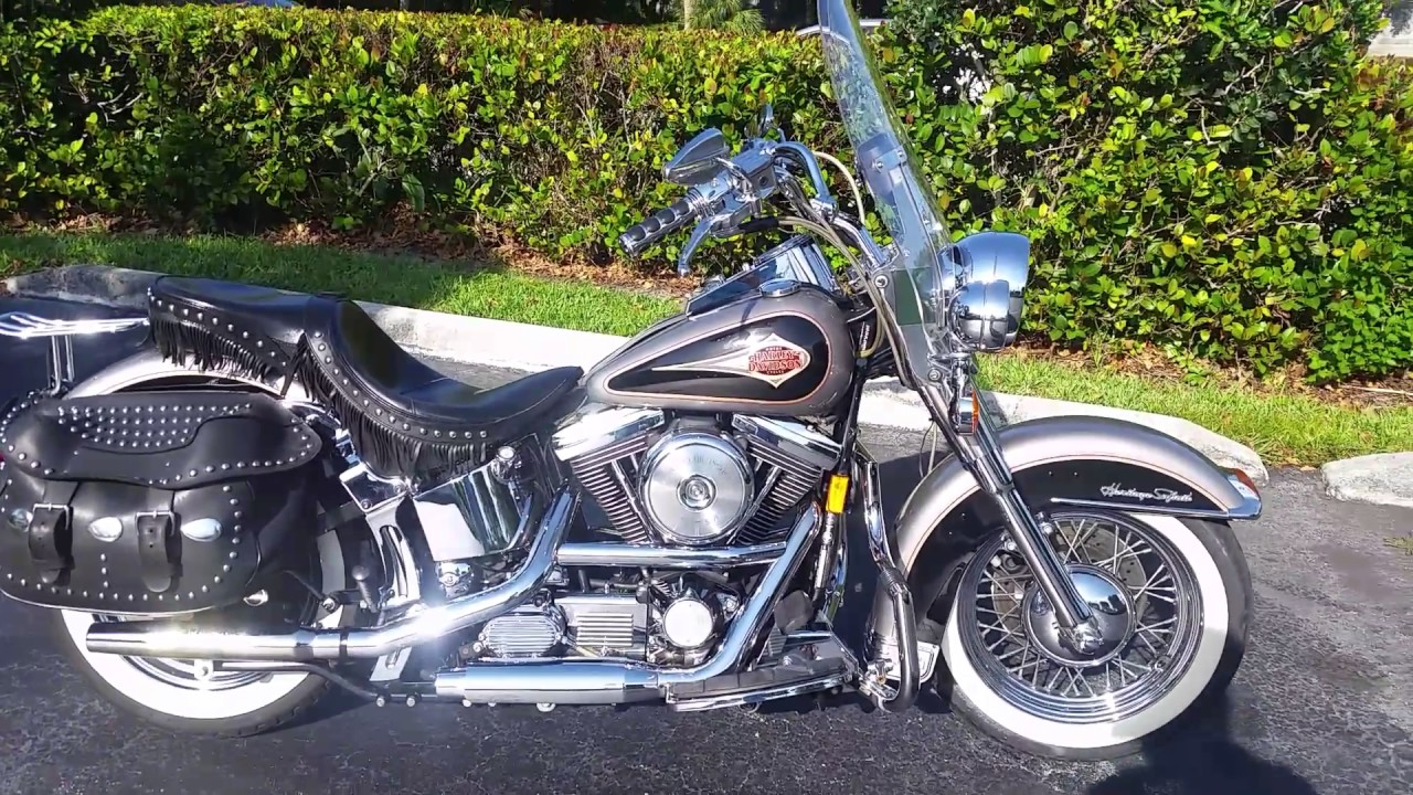 1997    HARLEY       DAVIDSON       HERITAGE       SOFTAIL     YouTube