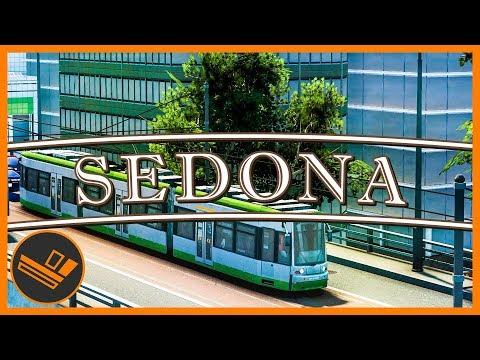 Sedona - Part 89 | NEW TRAMS! (Cities: Skylines)