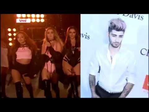 Little Mix Mock Zayn's Awkward Dancing! - Celebrity Hit