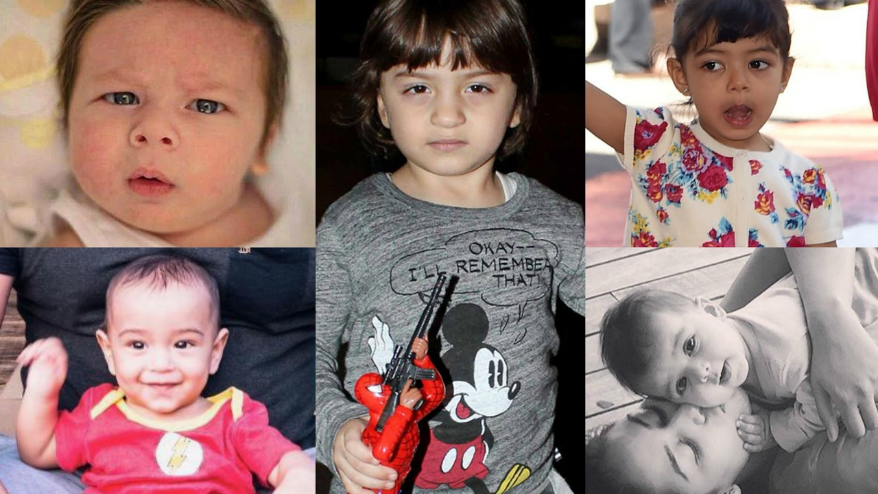 Top 10 Bollywood Star Kids Who Rules Social Media