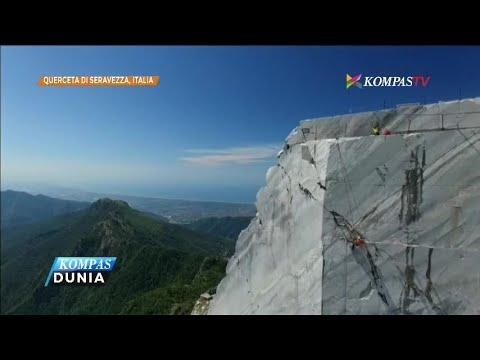 Tambang Marmer Granit di Italia