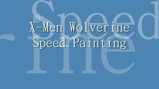X-Men Wolverine Speed Paint