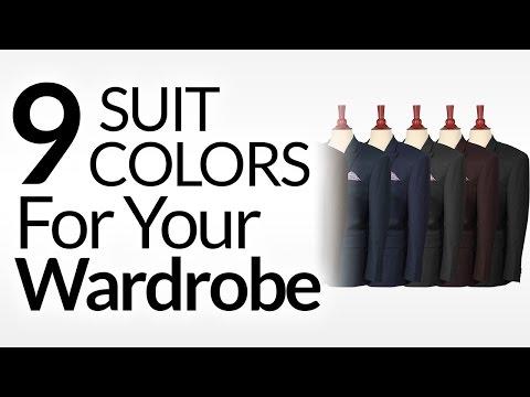 9 Suit Colors A Man Should Consider | Men's Suits & Color | Suit Colors To Buy Priority Order
