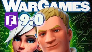 Fortnite 9.0 WarGames - The hype is real - Prepping in Fortnite Save the World