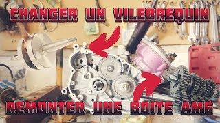 CHANGER SON VILEBREQUIN ET REMONTER SA BOÎTE DE VITESSE AM6 | TUTORIEL