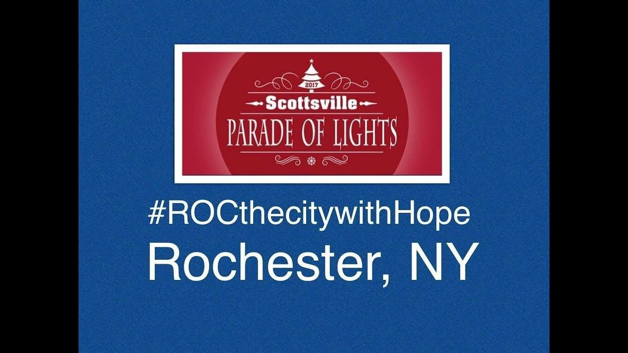 Scottsville Parade Of Lights   Rochester, NY   #ROCthecitywithHope Ep. 16