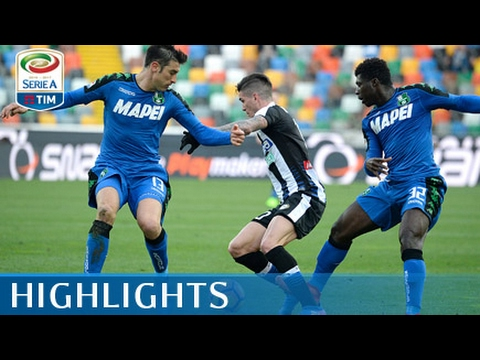 Udinese - Sassuolo - 1-2 - Highlights - Giornata 25 - Serie A TIM 2016/17