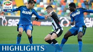 Udinese - Sassuolo - 1-2 - Highlights - Giornata 25 - Serie A TIM 2016/17