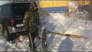 Mitsubishi Pajero- ЖЕСТЬ.. по снегу и льду Омск