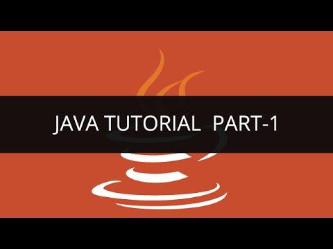 Java Tutorials | Set of 8 Descriptive Video Lessions on Java