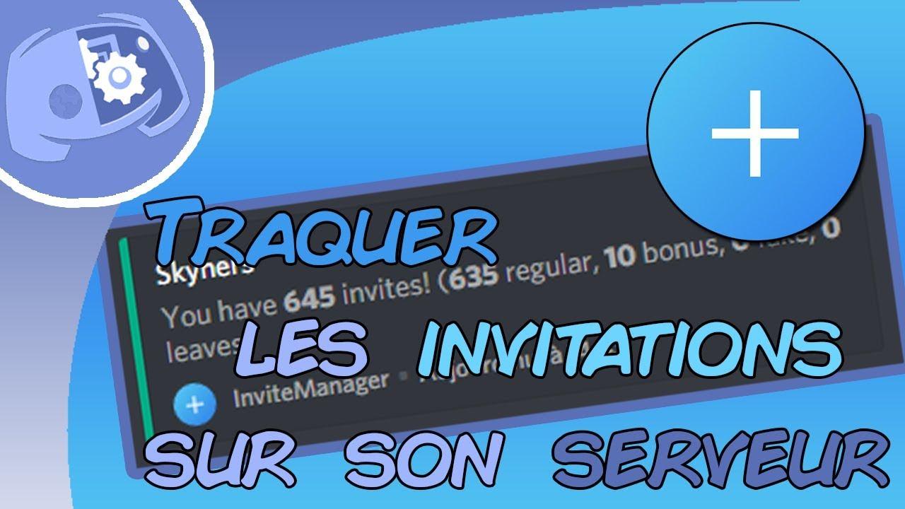 Discord | Compter le nombre d'invitation (InviteManager)