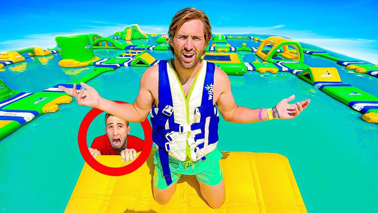 Download Hide N Seek In Worlds Largest Inflatable Water Park