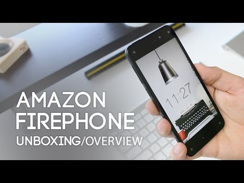 Amazon Fire Phone Unboxing & Overview